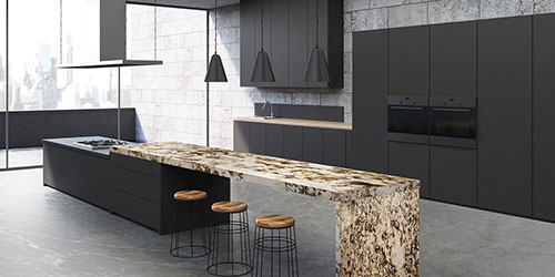 When living with style becomes an art form, eyes don't rest on anything less than the best. Granite becomes the obvious choice for the connoisseurs.